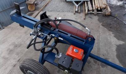 Как сделать бензиновый дровокол своими руками